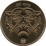 Monnaie de Paris Tourist Token - Fort Boyard (30 years) – reverse