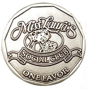Token - Miss Laura's Social Club (Fort Smith, Arkansas) – obverse