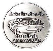 Token - Lake Dardanelle State Park (Arkansas) – obverse