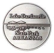 Token - Lake Dardanelle State Park (Arkansas) – reverse