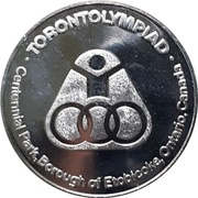 Medal - Torontolympiad 1976 – obverse