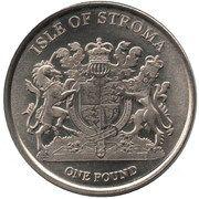 1 Pound (Main Coon) – obverse