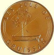 Monnaie de Paris Tourist Token - Les sels de Gruissan – obverse