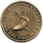 1 Dollar (Humpback Anglerfish) – obverse