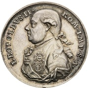 Medal - Coronation of Leopold II as Holy Roman Emperor – obverse