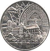 Monnaie de Paris Tourist Token - Notre-Dame de Paris (Reconstruction) – obverse