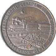 Medal - Inauguration of the Line to Mercedes – obverse