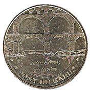 Monnaie de Paris Tourist Token - Pont du Gard – obverse