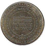 Monnaie de Paris Tourist Token - Pont du Gard – reverse