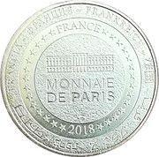 Monnaie de Paris Tourist Token - Château de Falaise – reverse