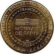 Monnaie de Paris Tourist Token - La vallée des singes (20 ans) – reverse