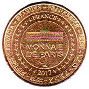Monnaie de Paris Tourist Token - Vendée (Le Département) – reverse