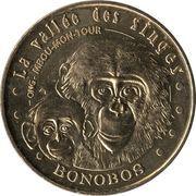 Monnaie de Paris Tourist Token - La vallée des singes (Bonobos) – obverse