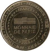 Monnaie de Paris Tourist Token - La vallée des singes (Bonobos) – reverse