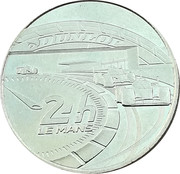 Monnaie de Paris Tourist Token - Le Mans (Dunlop) – obverse