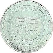 Monnaie de Paris Tourist Token - Le Mans (Dunlop) – reverse