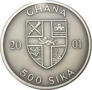 500 Sika (Convex - Quadriga) – obverse