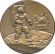 Medal - Neil Armstrong – obverse