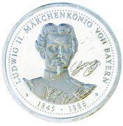 Token - Ludwig II (Neuschwanstein) – obverse