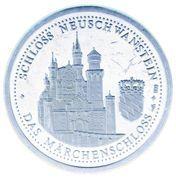 Token - Ludwig II (Neuschwanstein) – reverse