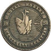 Medal - Hobart Centenary Regatta – reverse