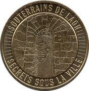 Monnaie de Paris Tourist Token - Souterrains de Laon (Secrets sous la ville) – obverse