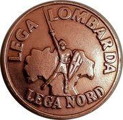 2 Lire (Lega Lombarda) – obverse