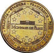 Monnaie de Paris Tourist Token - Disneyland Resort Paris (15 Magical Years) – reverse