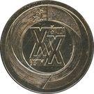 Medal - Sverdlovsk - Plzeň – reverse