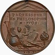 Medal - Pierre Bayle – reverse