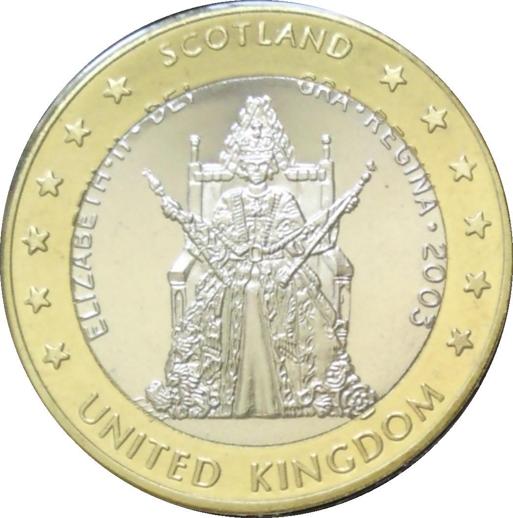 1 E United Kingdom Euro Fantasy Token