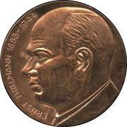 Medal - Ernst Thälmann – obverse