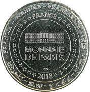 Monnaie de Paris Tourist Token (Maintenon - L'aqueduc de Vauban) – reverse