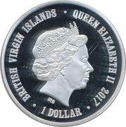 1 Dollar - Elizabeth II (Humboldt penguin) – obverse