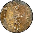 Medal - Dmitry Moor (100th Anniversary) – reverse
