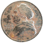 Medal -  Martin Luther Reformation (1517-1917) – obverse