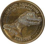 Monnaie de Paris Tourist Token - Amboise (Grand aquarium de Touraine) – obverse
