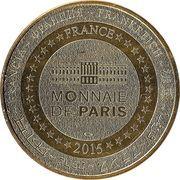 Monnaie de Paris Tourist Token - Amboise (Grand aquarium de Touraine) – reverse