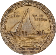 100 years of Independence of the state of Pará – obverse