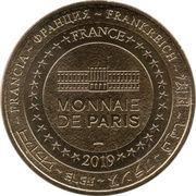 Monnaie de Paris - Disneyland Paris (Mimi et Mickey selfie Tour Eiffel) – reverse
