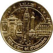 Monnaie de Paris Tourist Token - Lille (Ville d'art et d'histoire) – obverse