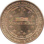 Monnaie de Paris Tourist Token - Lille (Ville d'art et d'histoire) – reverse