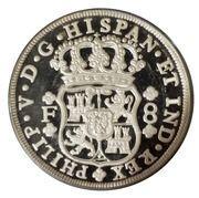 40 Reales / 5 Ounces (Pillar Dollar) – obverse
