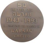 Medal - Warsaw Ghetto Uprising – obverse