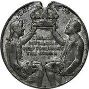 Medal - Edward VII Coronation – reverse