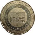 Monnaie de Paris Tourist Token - Pays de Saint Gilles Croix de Vie – reverse