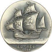 """Medal - Pedro Alvares Cabral """"El-Rey"""" – reverse"""