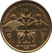 Monnaie de Paris Tourist Token - Jean Paul II -  reverse