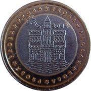 1 Europ (Croatia Euro Fantasy Token) – obverse