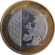 1 (Croatia Euro Fantasy Token) – reverse